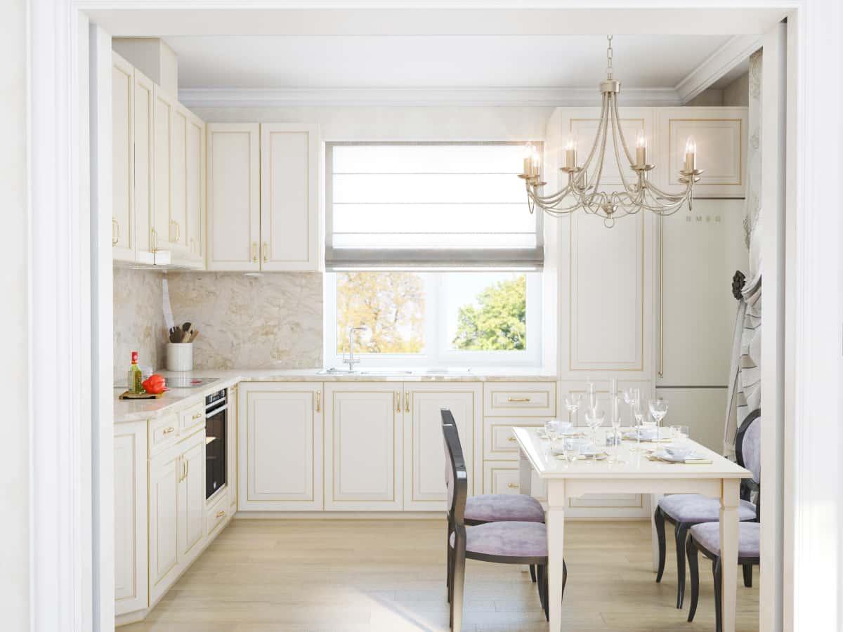 интерьер дома по проекту 133 кухня